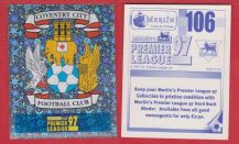 Coventry City Badge 106 (F)